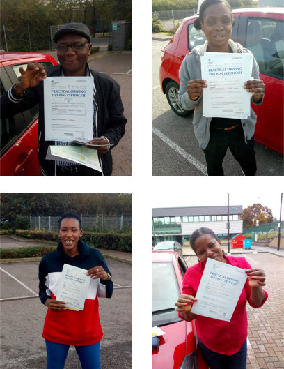 Intensive driving course passes